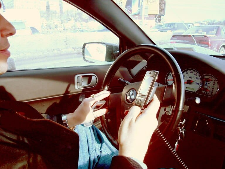 The dangers of cell phone use while driving