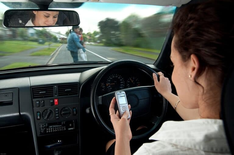 Recovering Damages from a Text Messaging Accident