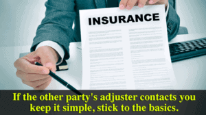 Should I Share Information With The Other Party's Insurance Company After A Car Crash?
