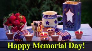 Memorial Day – Celebrate With A Plan!