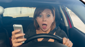 Using Cell Phones While Driving Increases Probability Of Accidents