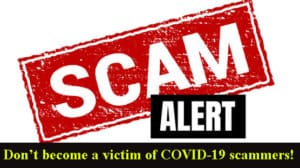 Coronavirus Scams Advice For Consumers.